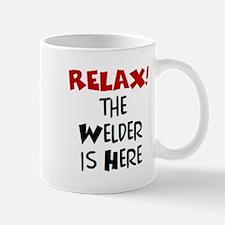 welder here Mug