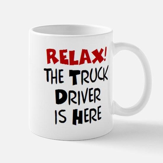 truck driver here Mug