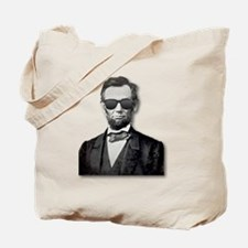 Shady Abe Tote Bag