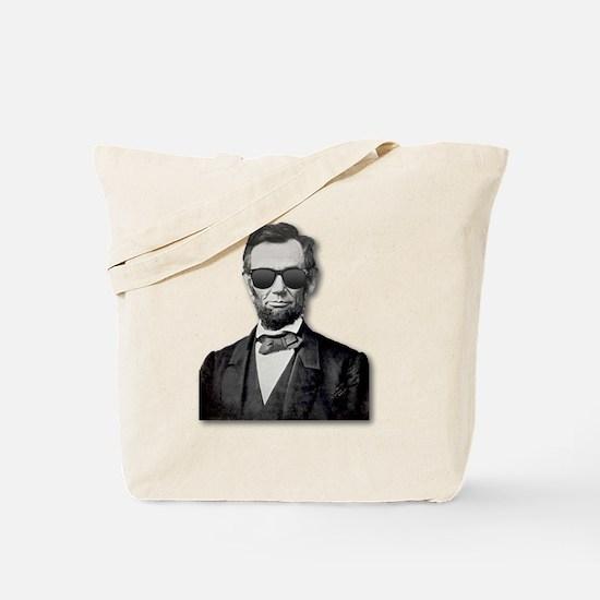 Shady Abe Tote Bag