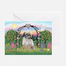 Rose Arbor Shih Tzu Greeting Cards (Pk of 20)