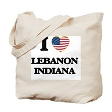 I love Lebanon Indiana Tote Bag