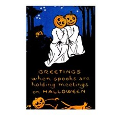 Spook Meeting Postcards (Package of 8)