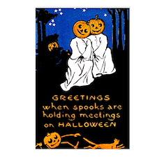 Spook Meeting Postcards (Package of 8)