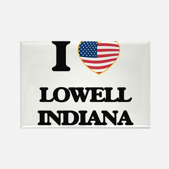 I love Lowell Indiana Magnets