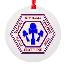 KENDAMA HEXAGON Ornament