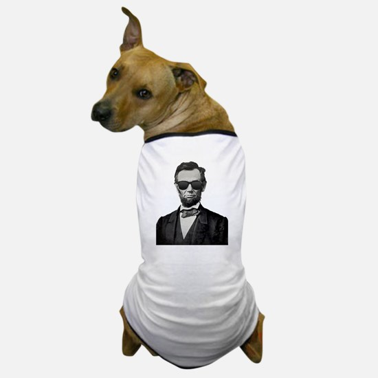 Funny Abe lincoln Dog T-Shirt