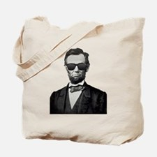 Funny Abe lincoln Tote Bag