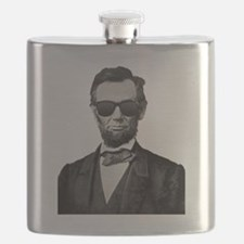 Funny Abe lincoln Flask
