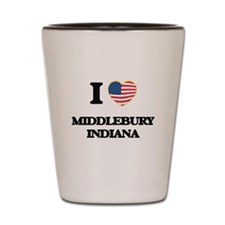 I love Middlebury Indiana Shot Glass