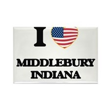 I love Middlebury Indiana Magnets