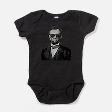 Shady Abe Baby Bodysuit