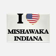 I love Mishawaka Indiana Magnets