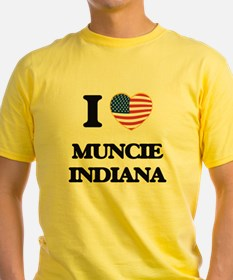 I love Muncie Indiana T-Shirt