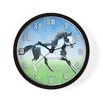 Paint Horse Wall Clock