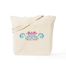 Nanny and Super Hero Design Tote Bag