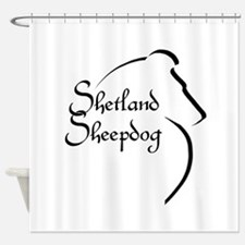 Sheltie Style Shower Curtain