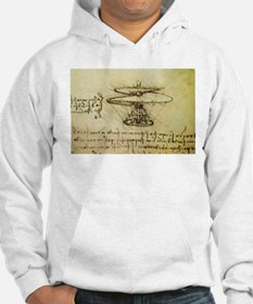 DaVinci Flying Machine Hoodie