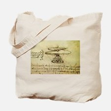 DaVinci Flying Machine Tote Bag