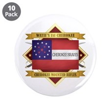 "Cherokee Mounted Rifles 3.5"" Button (10 pack)"