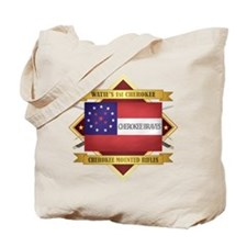 Cherokee Mounted Rifles Tote Bag