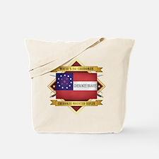 Cherokee Mounted Rifles Tote Bag