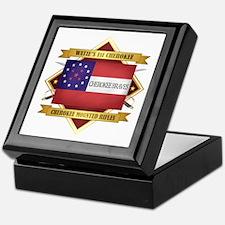 Cherokee Mounted Rifles Keepsake Box