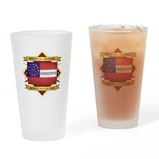 Cherokee Mounted Rifles Drinking Glass