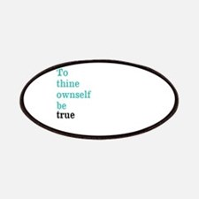 To thine ownself Patch