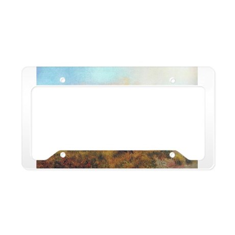 Native Americans License Plate Holder By Thewildandwoolywest