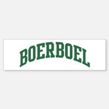 Boerboel (green) Bumper Bumper Bumper Sticker