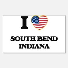 I love South Bend Indiana Decal