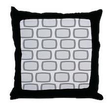 Mid-Century Modern Abstract 9 Throw Pillow
