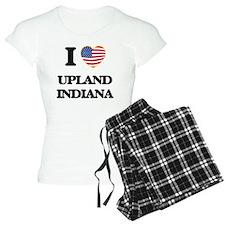 I love Upland Indiana Pajamas