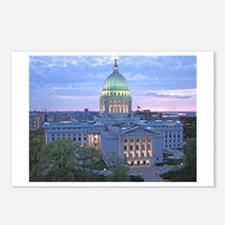 Unique Wisconsin madison Postcards (Package of 8)