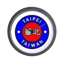 Taiwan Wall Clock