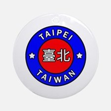 Taiwan Round Ornament