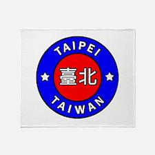 Taiwan Throw Blanket