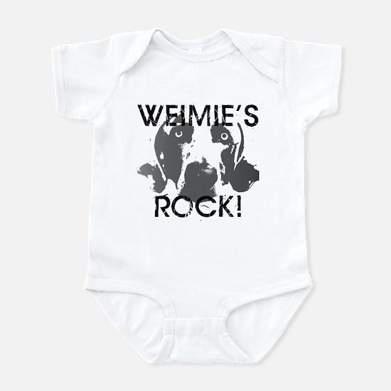 Weimie's Rock! Infant Bodysuit