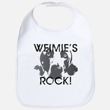 Weimie's Rock! Bib