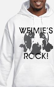 Weimie's Rock! Hoodie