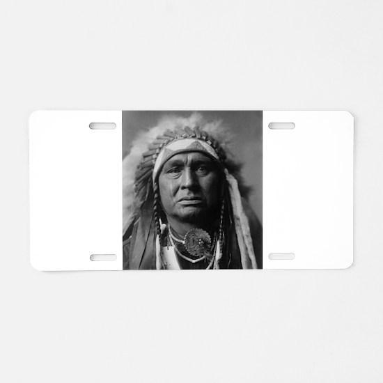 native americans Aluminum License Plate