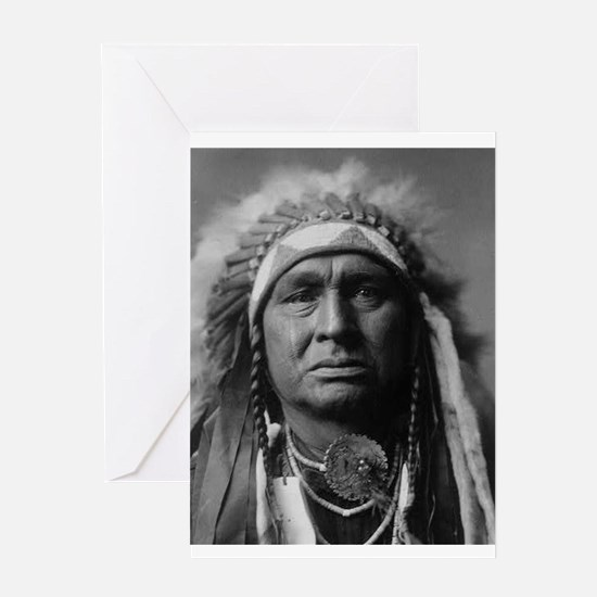 native americans Greeting Cards