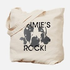 Weimie's Rock! Tote Bag
