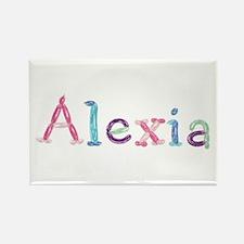 Alexia Princess Balloons Rectangle Magnet
