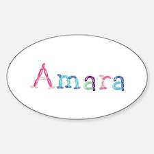 Amara Princess Balloons Oval Decal