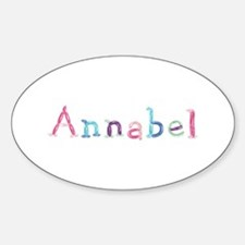 Annabel Princess Balloons Oval Decal