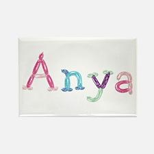 Anya Princess Balloons Rectangle Magnet