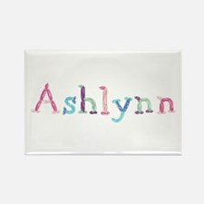 Ashlynn Princess Balloons Rectangle Magnet