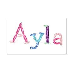Ayla Princess Balloons 20x12 Wall Peel
